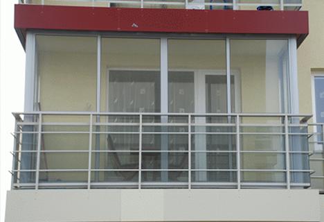 полное oстекление балконов
