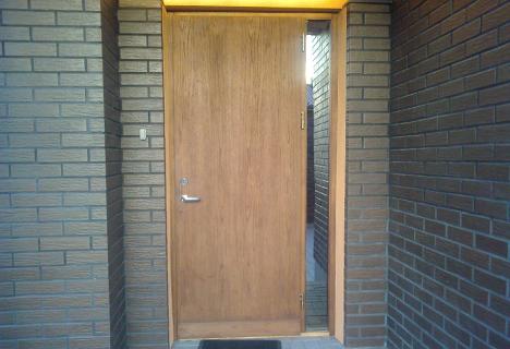 Armored exterior doors