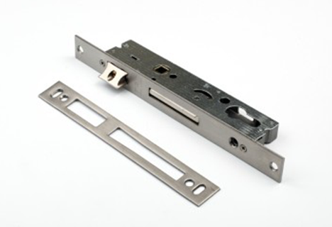 Locks for aluminum and plastic doors