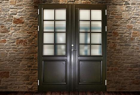 Skandinaviško tipo durys